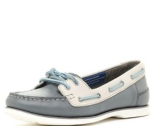 Rockport Blue and White Boat/Deck Shoes
